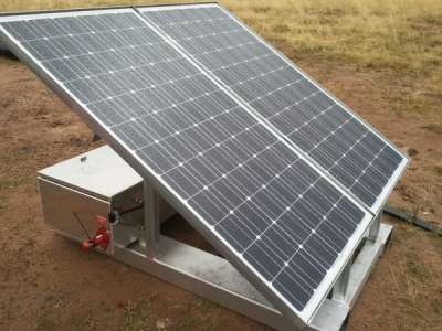 24Vdc Solar Charging Station